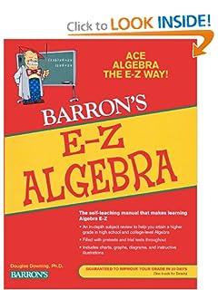 algebra the easy way douglas downing filetype pdf