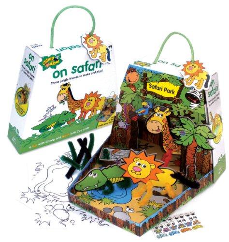 Chimp And Zee On Safari Craft Kit