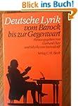 Deutsche Lyrik vom Barock bis zur Geg...