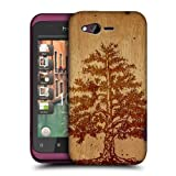 Head Case Designs Tree Wood Art Hard Back Case Cover for HTC Rhyme