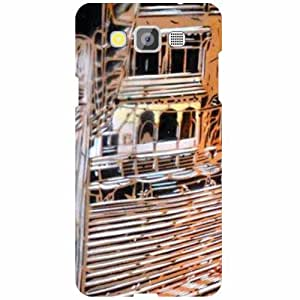 Samsung Galaxy Grand Max SM-G7200 Back Cover - Traditional House Designer Cases
