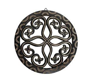 Pindia Wooden Panel Handmade Decorative Wall Hanging Showpiece