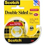 3M 237-Adhesives 237-Scotch Double Si...