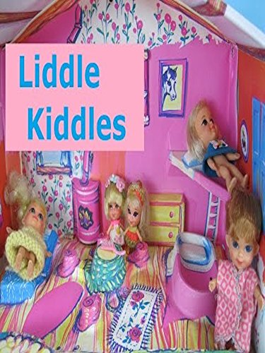 Vintage Liddle Kiddles Dolls and Klub doll house.  Lucky Lockets Mattel 1966 - 1971