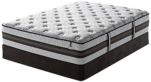 Luxury Home Iseries Profile Cushion Firm Honoree Mattress Set By Serta, Full