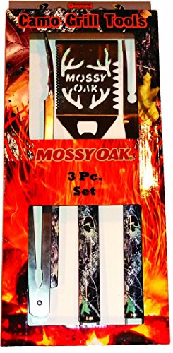 Mossy Oak 3 Piece BBQ Set (Camo Bbq compare prices)