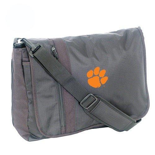 Mercury Luggage Clemson Tigers Black Messenger Bag