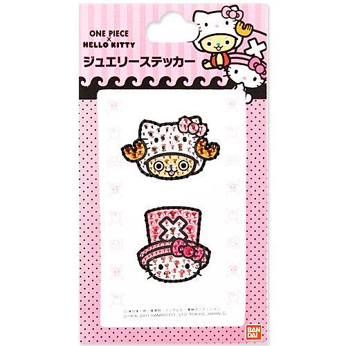 ~ One Piece Chopper Jewelry Sticker Kitty