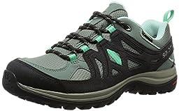 Salomon Women\'s Ellipse 2 GTX W Hiking Shoe, Light TT/Asphalt/Jade Green, 6.5 B US