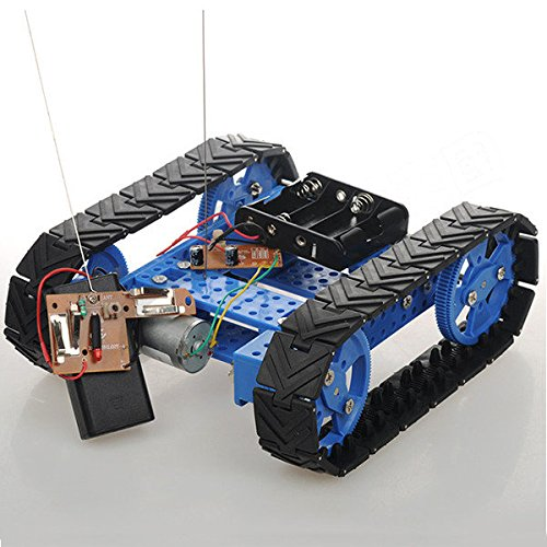Saver-DIY-Assembling-Tracked-Tank-Car-Robot-Kit-With-Remote-Control-For-Arduino