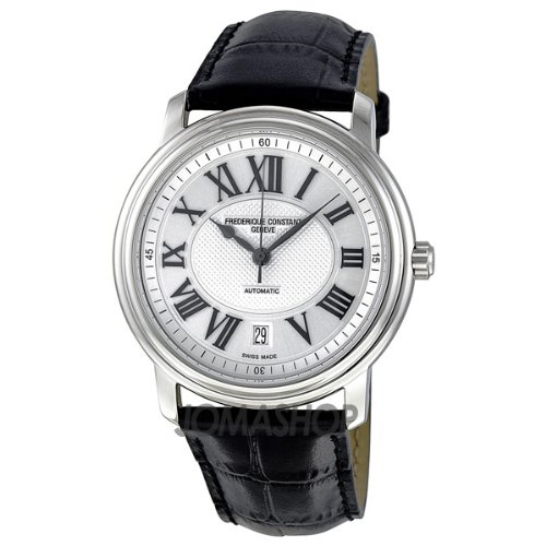 Frederique Constant Men's FC-303NM4P6 Persuasion Heart Beat Silver Roman Numerals Dial Watch