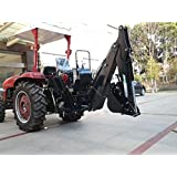3 Point PTO Driven Hydraulic Backhoe Excavator Attachment 8600 John Deere Skid Steer