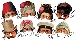 Victorian Revelers Party Masks