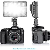 Bestlight® Photo Studio 176 LED Ultra Bright Dimmable On Camera Video Light for Canon,Nikon,Pentax,Panasonic,Sony,Samsung,Olympus and Other Digital SLR Cameras(PT-176S)