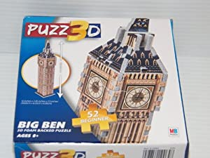 big ben 3d puzzle instructions
