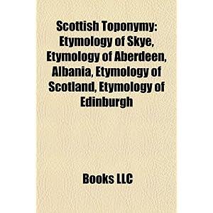 Scotland Etymology | RM.