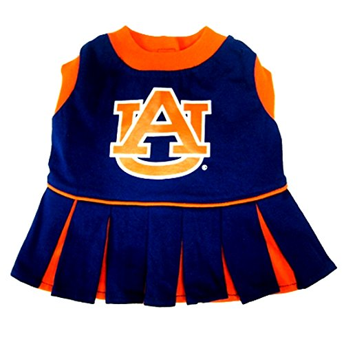 Pets First EPAUCLO-M Auburn Tigers Cheer Leading MD