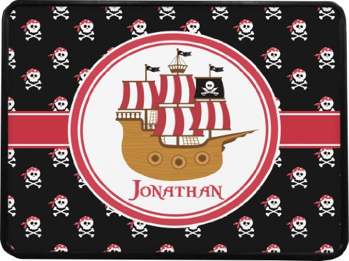 Pirate Rectangular Trailer Hitch Cover (Personalized) - Class 1& 2 Hitches