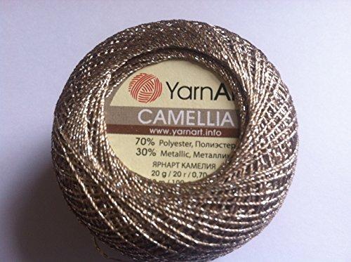 camellia-camel-silver-metallic-braid-thread-20-gram-207-yards