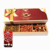 Diwali Gifts - Unique Combination Of Dryfruits With 3d Mobile Cover For IPhone 6 - Chocholik Dry Fruits