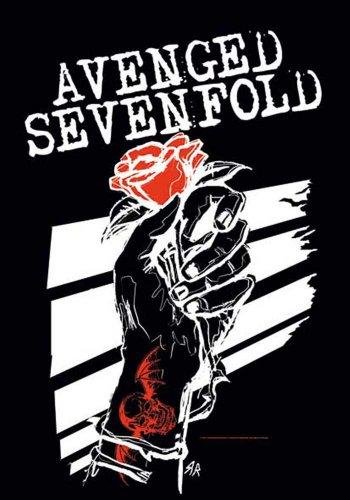 Empire Merchandising GmbH-Poster Rosehands, motivo: Avenged Sevenfold