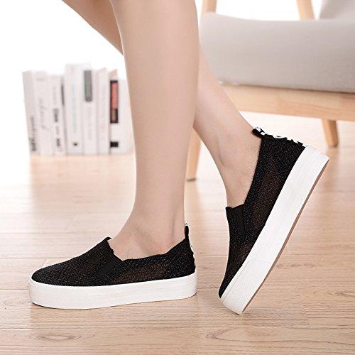 scarpe Mesh/scarpe traspiranti estive/scarpe basse-B Lunghezza piede=24.8CM(9.8Inch)