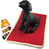 Alfie Pet By Petoga Couture - Regan Mat For Dogs And Cats - Color: Red