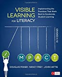 img - for Visible Learning for Literacy, Grades K-12: Implementing the Practices That Work Best to Accelerate Student Learning (Corwin Literacy) book / textbook / text book