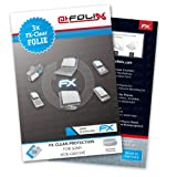 AtFoliX FX-Clear screen-protector for Sony HDR-GW55VE (3 pack) - Crystal-clear screen protection!