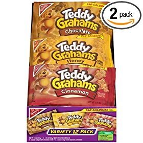 s Snacks, Variety Pack (1-Ounce Packages), 12-Count Trays (Pack of 2): Amazon.com