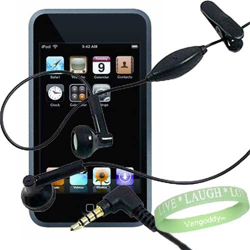 Vangoddy Earphones With Mic For Ipod Touch 3G (16/32 Gb)
