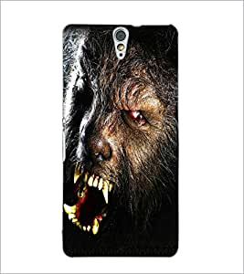 PrintDhaba Beast D-5018 Back Case Cover for SONY XPERIA C5 ULTRA (Multi-Coloured)