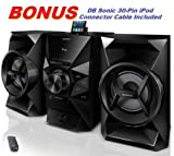 Sony 120 Watt Hi-Fi Stereo Sound System with MP3 CD Player, FM...