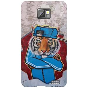 Samsung I9100 Galaxy S2 - Closed Hands Phone Cover