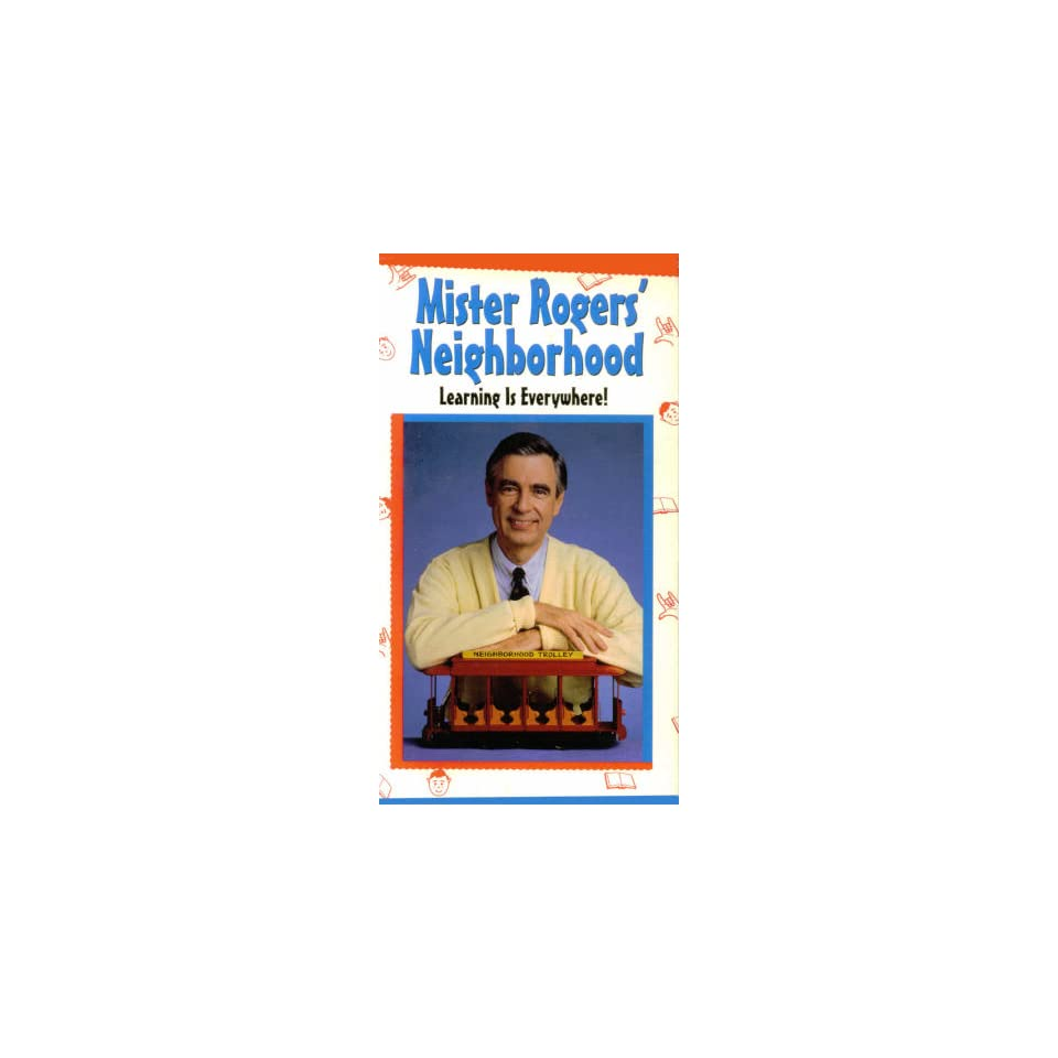 Mister Rogers Neighborhood Learning Is Everywhere [VHS] on