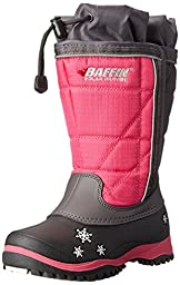 Baffin Cheree Insulated Snow Boot (Toddler/Little Kid/Big Kid),Charcoal/Hyper Berry,10 M US Toddler
