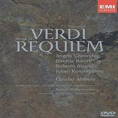 Giuseppe Verdi : Messa da Requiem (2001) - DVD
