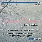 SSS0183 ヨアンナ・マルツィ ベートーヴェン:ヴァイオリン・ソナタ第5番「春」 他