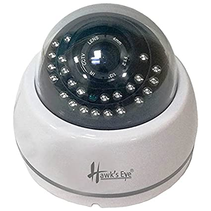 Hawks Eye D23-2410-C 1000TVL IR Dome CCTV Camera