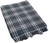 SEVEN STARS 1 Piece Cotton Bath Towel Set - Grey