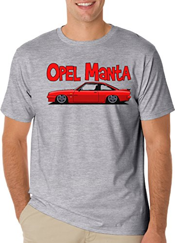 cars-opel-manta-t-shirt-mens-classic-t-shirt-x-large