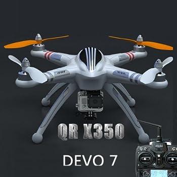 WALKERA QR X350 GPS RC クワッドコプター with DEVO 7 スタンダード バージョン [モード2(左スロットル)]