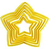 Wilton Set of 6 Nesting Star Cutters