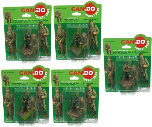 Assorted 1 Piece - 1:35 Scale Combat Army Figure