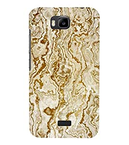 printtech Marble Design Back Case Cover for Huawei Honor Bee