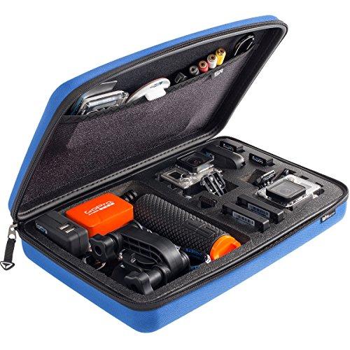 SP POV - Custodia protettiva 3.0 per Action camera GoPro Hero 1, 2, 3, 3+, colore: Blu