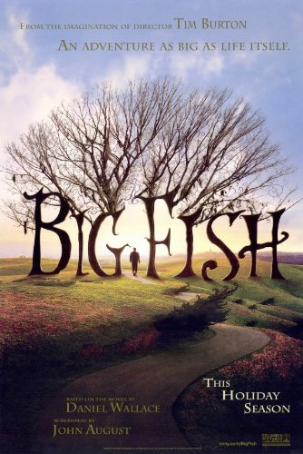 Big Fish - Movie Poster - 11 x 17