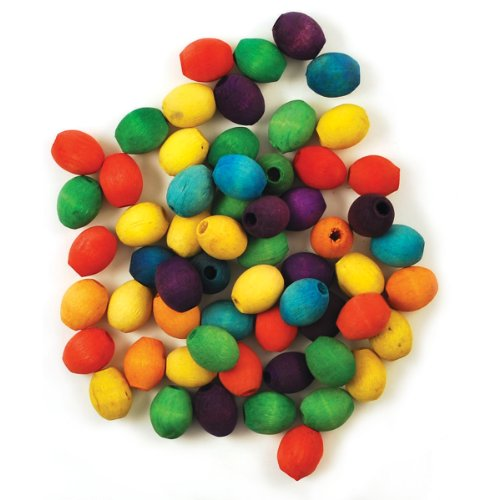 Craftwood Oval Beads 17x14mm 60/Pkg-Colored - 1