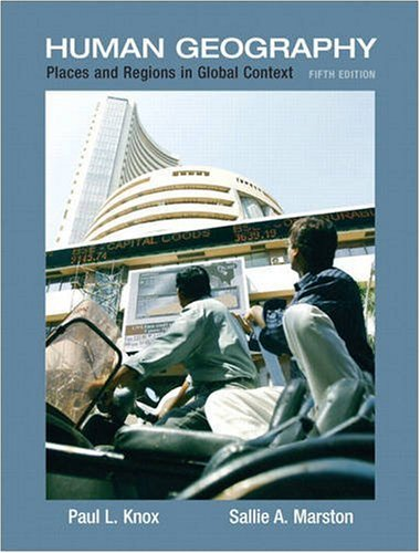 Human Geography: Places and Regions in Global Context,...