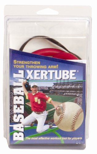 SPRI Baseball Xertube (Red, Medium Resistance)